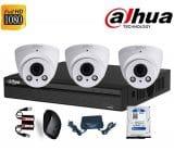 Trọn bộ 3 camera Dahua 2Mp (1080P)