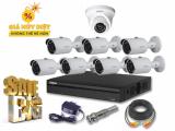 Trọn bộ 8 camera Dahua 2Mp (1080P)