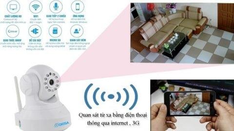 Tổng hợp các mẫu Camera an ninh không dây giá rẻ lắp đặt cho gia đình