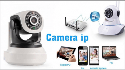 Hướng dẫn kết nối camera IP WIFI không dây với điện thoại di động