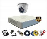 Trọn Bộ 1 Camera Hikvision 1MP – HD720P