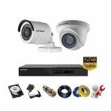 Trọn Bộ 2 Camera Hikvision 2MP/HD1080