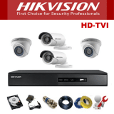 Trọn bộ 4 camera Hikvision 5.0Mp