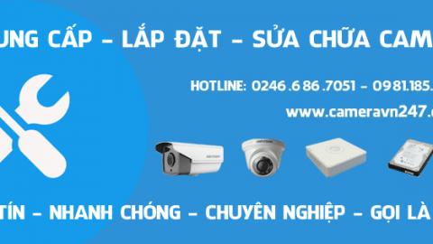 Dịch vụ sửa chữa camera quan sát