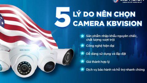 So sánh camera hikvision và kbvision – Nên sử dụng loại nào tốt